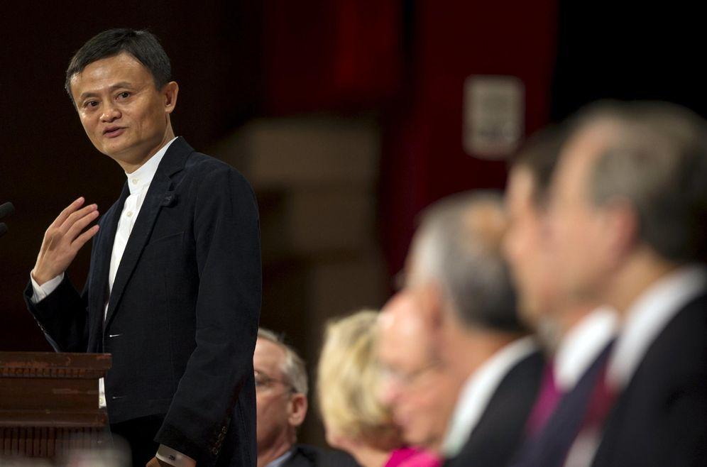 Foto: Jack Ma, fundador y CEO de Alibaba. (Mike Segar/ Reuters)