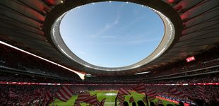 Post de El Wanda, un estadio espectacular, acoge al Atlético: