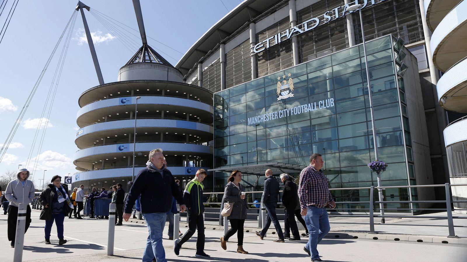 Foto: El Etihad Stadium. (Reuters)