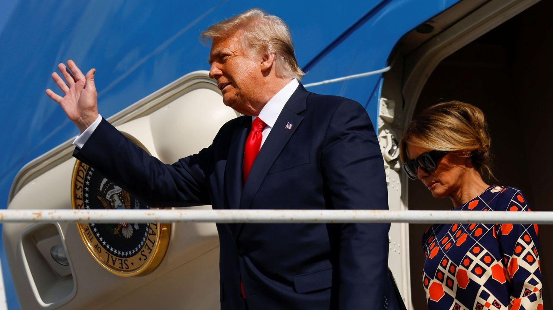 EL look a todo color con el que Melania ha empezado su nueva vida lejos de la presidencia. (Reuters)