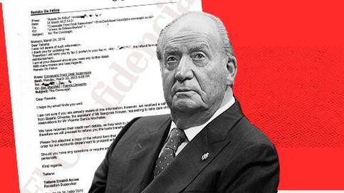 Dos testaferros pagaron la factura de Juan Carlos I en un hotel de Londres en 2015
