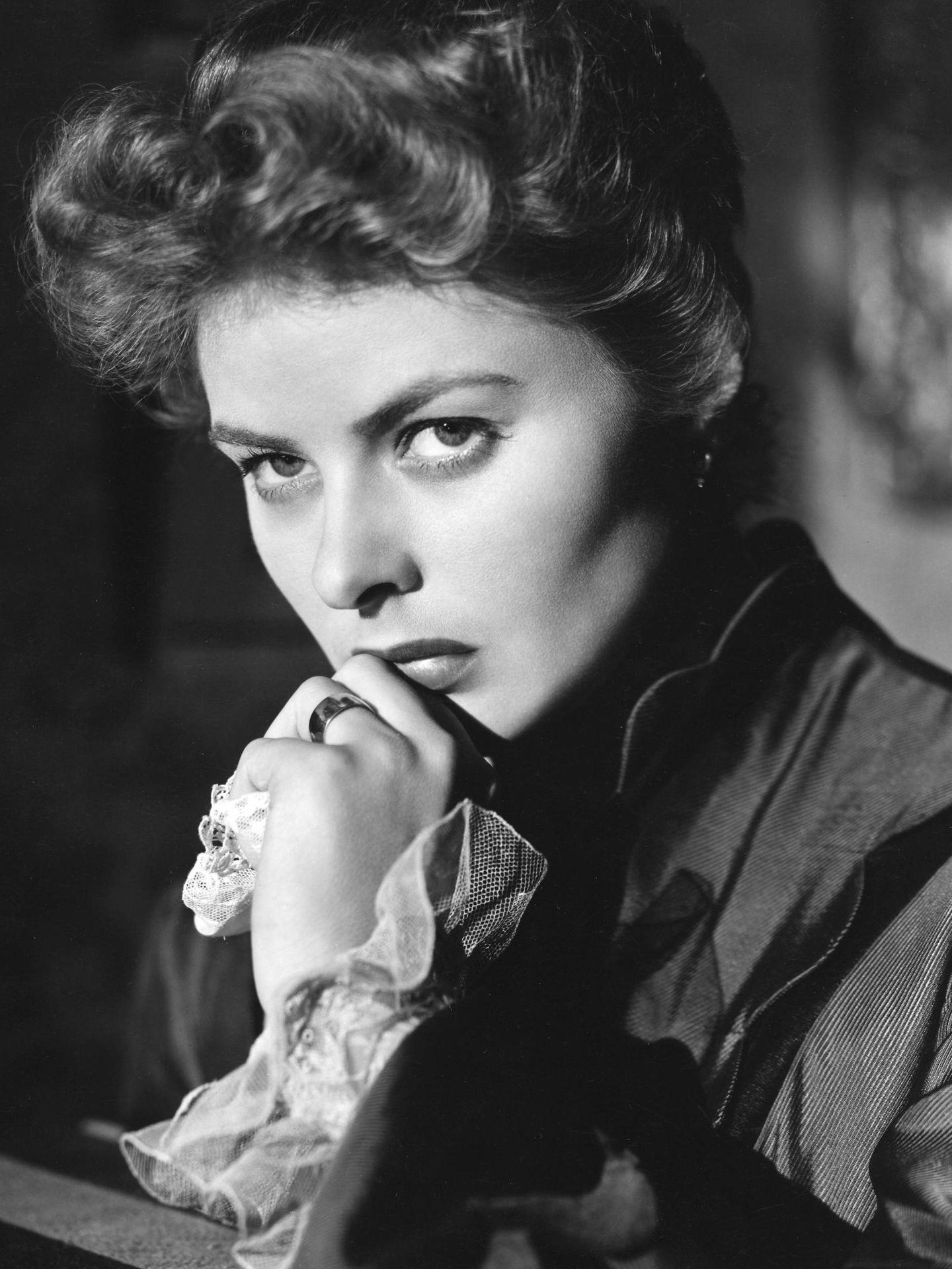 Ingrid Bergman, en 'Luz que agoniza'. (CP)
