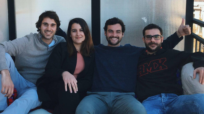 Alberto Espinós, Marta Hutesà, Lucas de Gispert e Ignacio Aguilera forman parte del equipo de Tropic (Foto: Tropic)