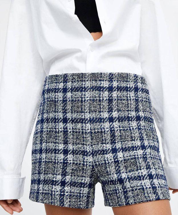 Foto: Los shorts ideales que podrás llevar todo el año son de Zara y cuestan 10 euros. (Cortesía)