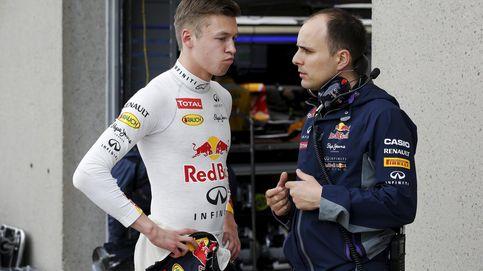 Cómo Kvyat le está mordiendo la oreja al 'niño bonito' de Red Bull