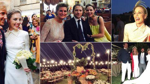 María Zurita, Fiona Ferrer y Natalia Figueroa, juntas de boda en Mallorca