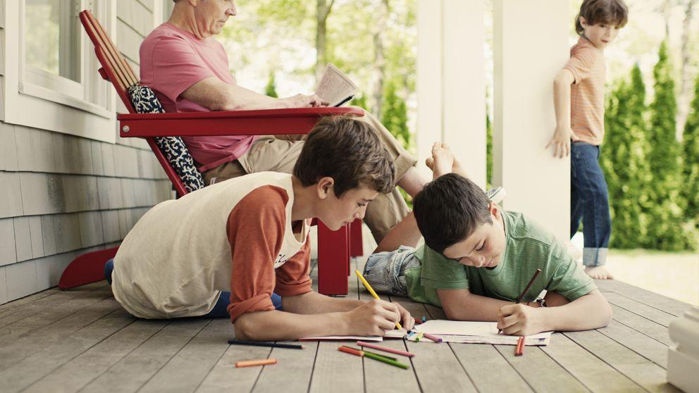 Los juegos que más divierten a los niños son los de sus abuelos