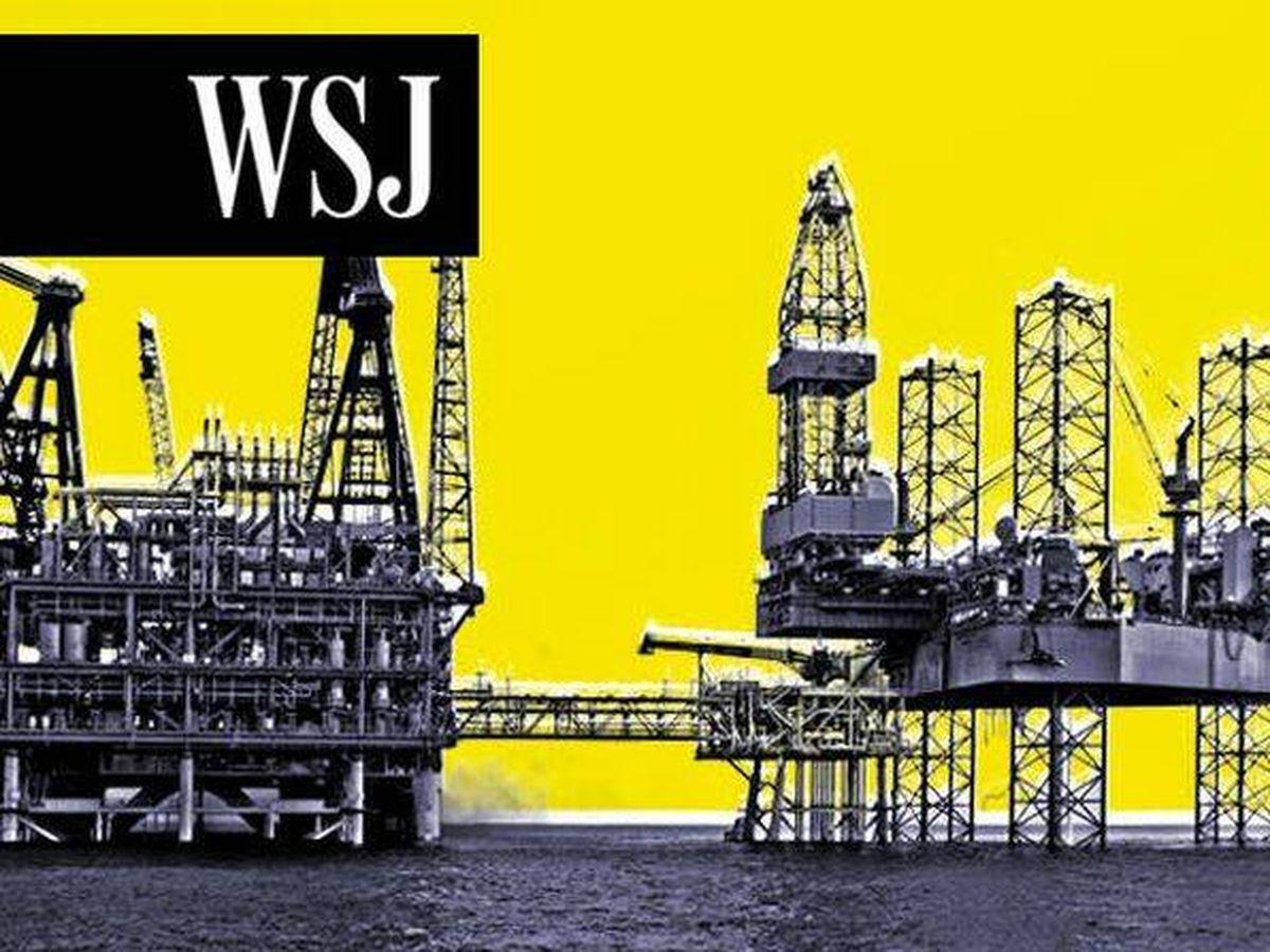 Foto: Plataforma petrolífera.