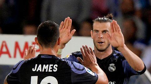 El problema del Real Madrid: evitar que James se junte con Bale en la pretemporada