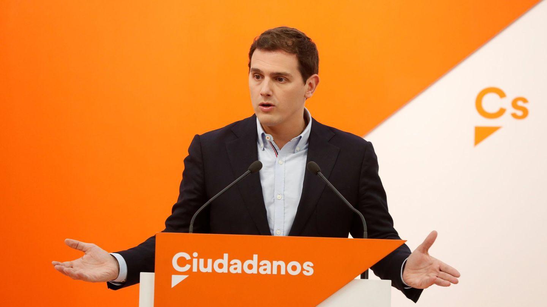 El líder de Ciudadanos, Albert Rivera. (EFE)