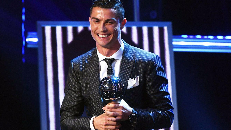 Cristiano Ronaldo gana el premio 'The Best' de la FIFA por segundo año consecutivo