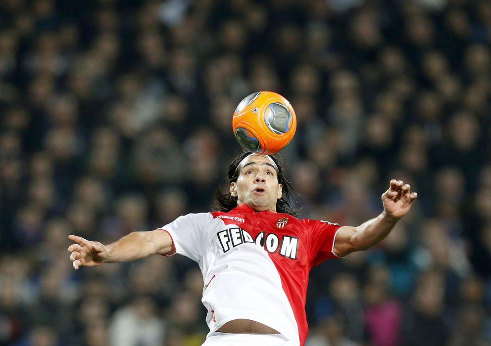 Foto: Falcao quiere salir del Monaco, pero el Real Madrid no parece su destino.