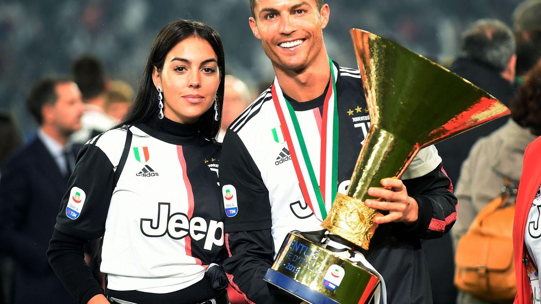 Cristiano Ronaldo y Georgina Rodríguez.  (Reuters)