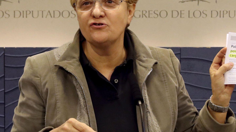 La diputada madrileña Ángeles Álvarez, portavoz socialista de Igualdad, el pasado noviembre.