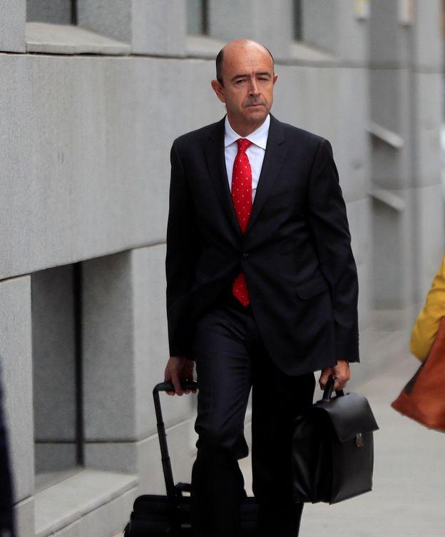 Foto: Manuel Lamela, a su llegada este lunes a la Audiencia Nacional. (EFE)
