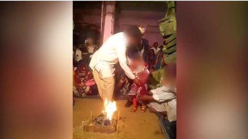 Obligan a estos niños de la India a casarse entre lágrimas y en contra de su voluntad