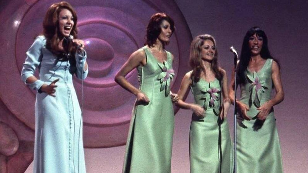 Foto: Karina participó en el Festival de Eurovisión de 1971. (RRSS)