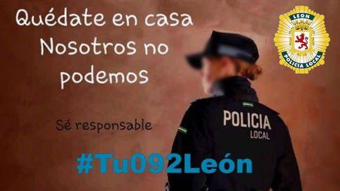 La policía de León, harta de los que se saltan la cuarentena: Es la hostia