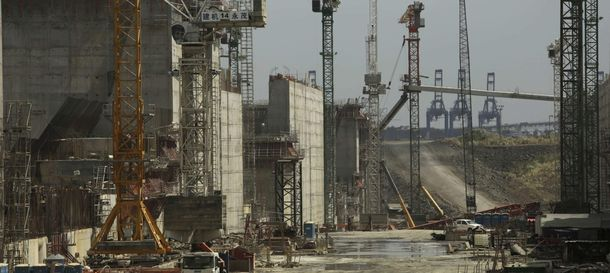 Foto: Obras de ampliación del Canal de Panamá. (Reuters)