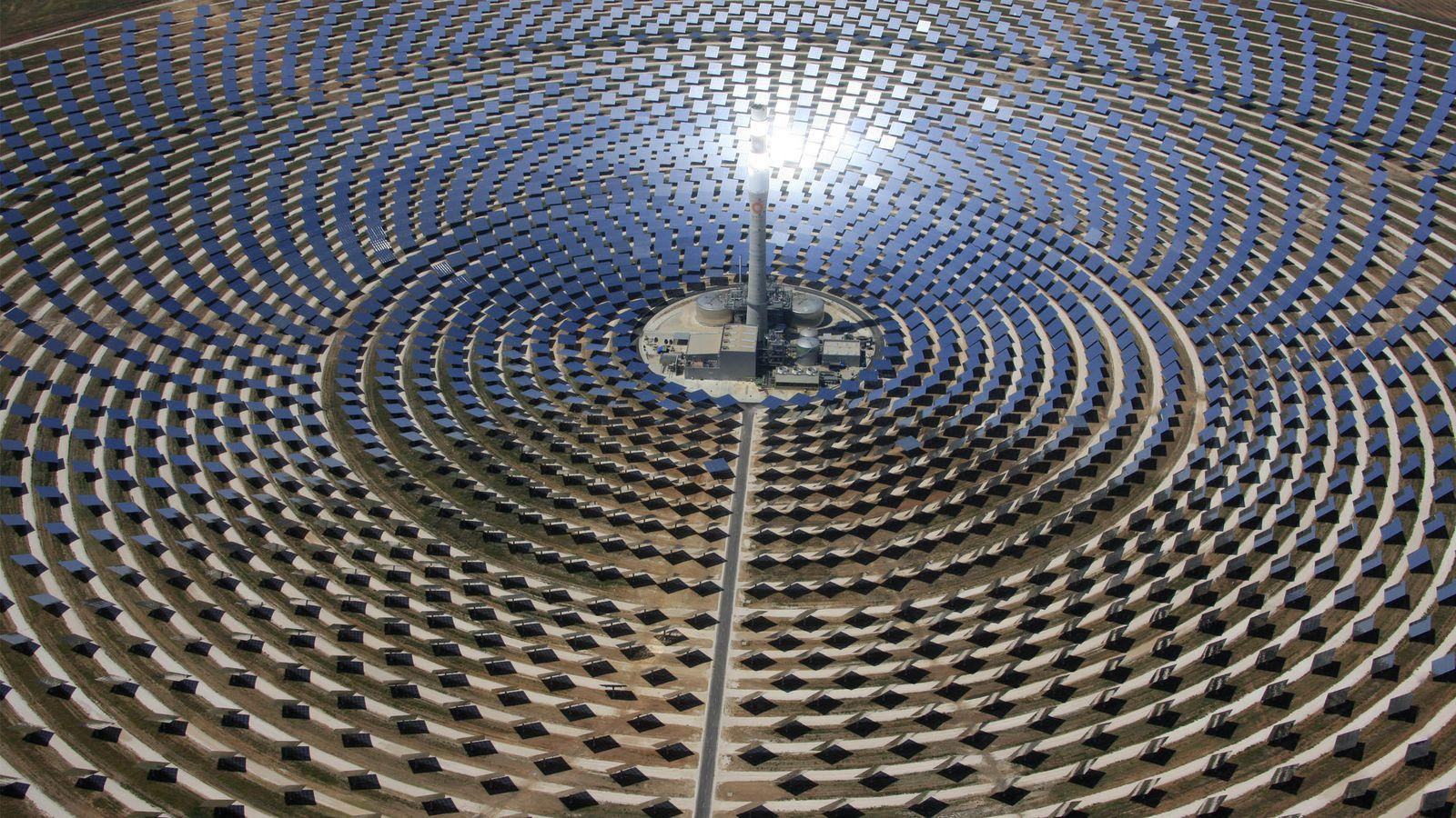 Foto: Planta termosolar de Ouarzazate, en Marruecos