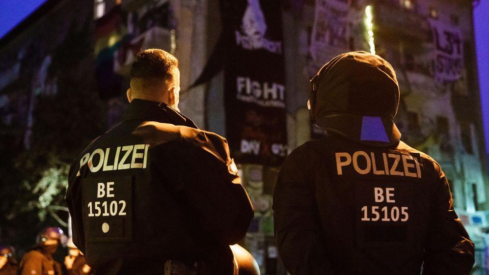 Foto: Policías en Berlín. (EFE)