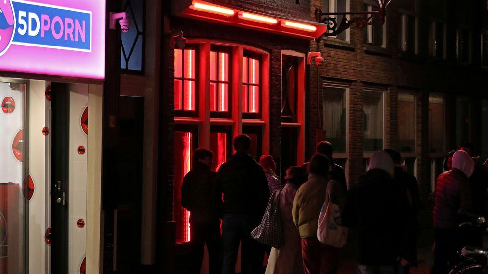 Foto: Barrio Rojo de Ámsterdam. (Reuters)