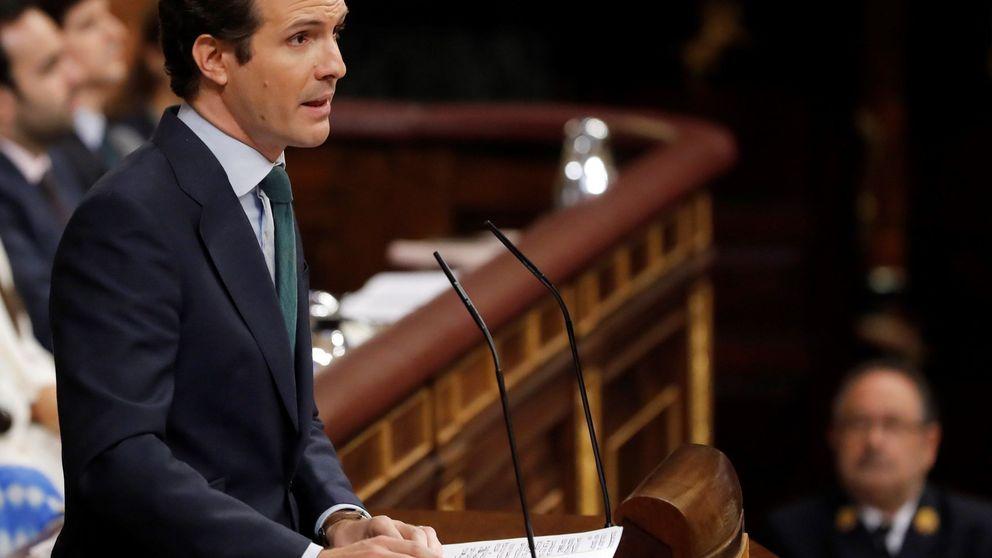 Casado y Rivera afean el espectáculo y la incapacidad de Sánchez e Iglesias