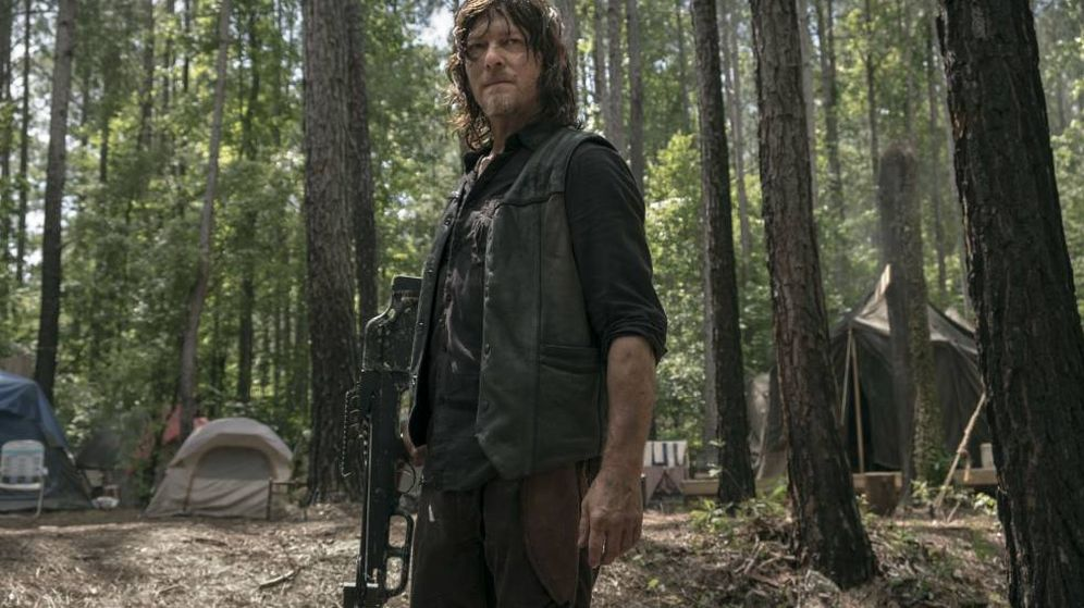 Foto: Norman Reedus en 'The Walking Dead'. (AMC)