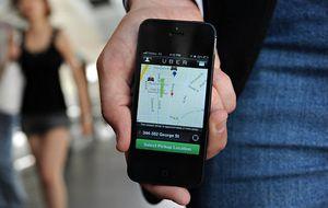 La aplicación Uber tiene un valor superior a 13.000 millones de euros