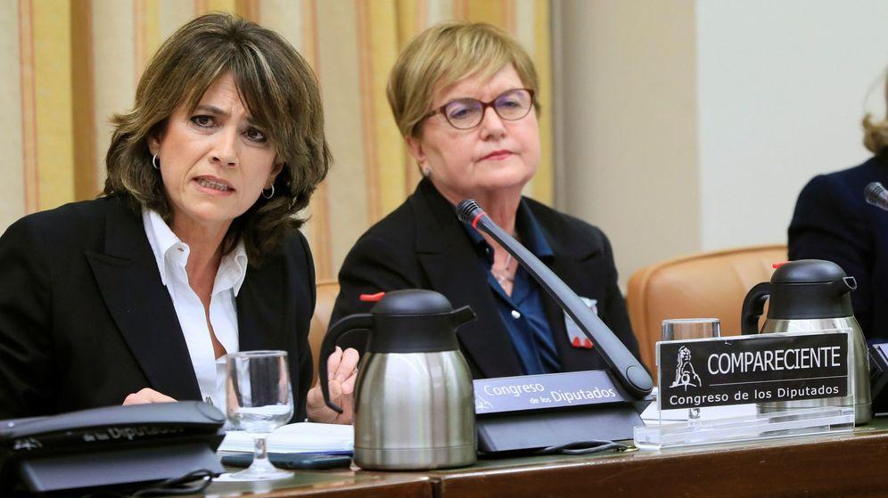 Foto: La exministra de Justicia, Dolores Delgado. (EFE)