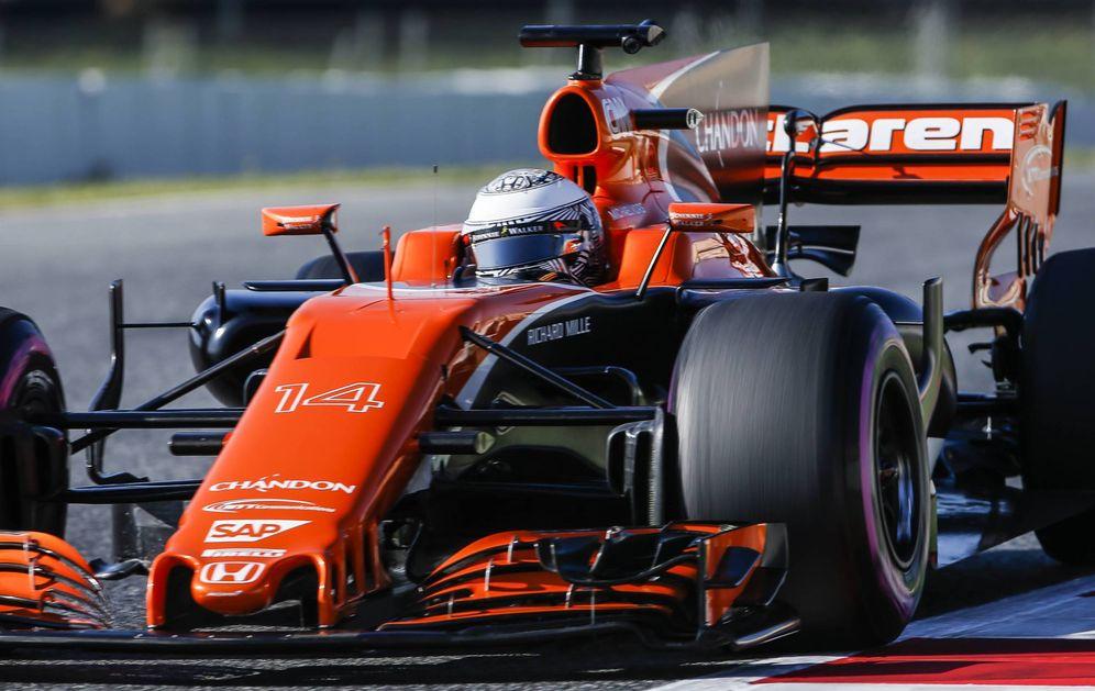 Foto: Imagen del nuevo McLaren Honda para esta nueva temporada. (Cordon Press)