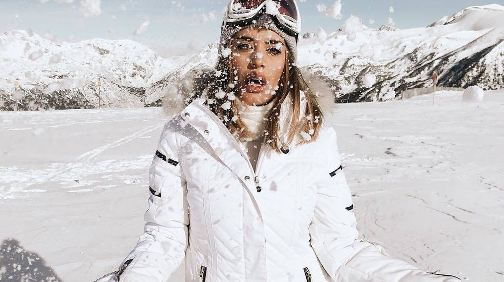 Foto: Dulceida es una de las incondicionales en las pistas de esquí. (Instagram)