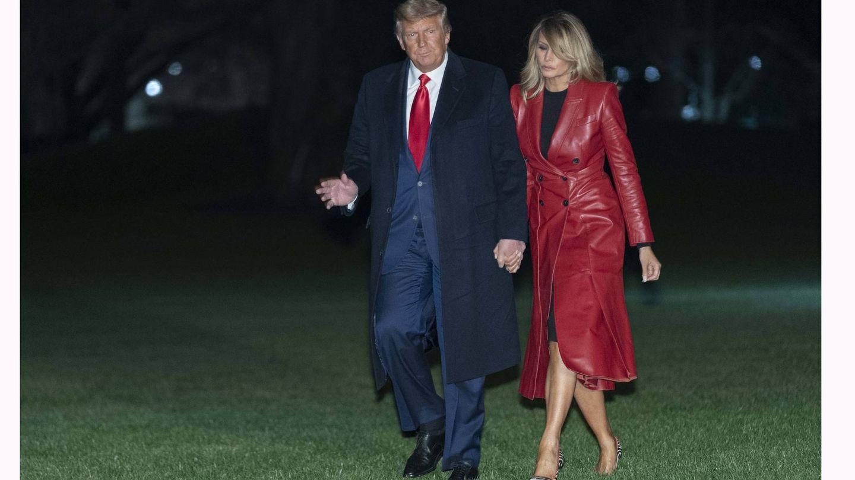 Donald y Melania Trump. (Cordon Press)