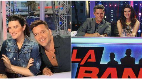 Alejandro Sanz, Laura Pausini y Ricky Martin se estrenan en 'La Banda'