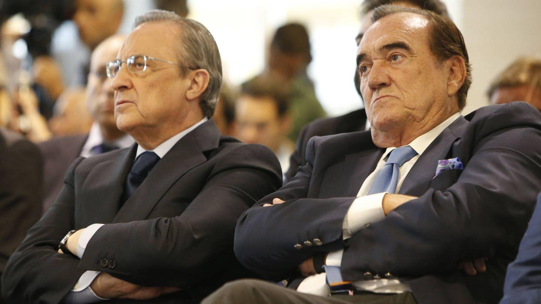 Florentino Pérez y Fernández Tapias, en una imagen de archivo. (Gtres)