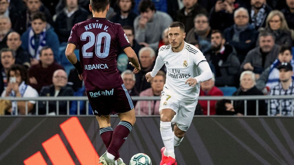 El coladero del Real Madrid en defensa y el toque de granuja de Hazard