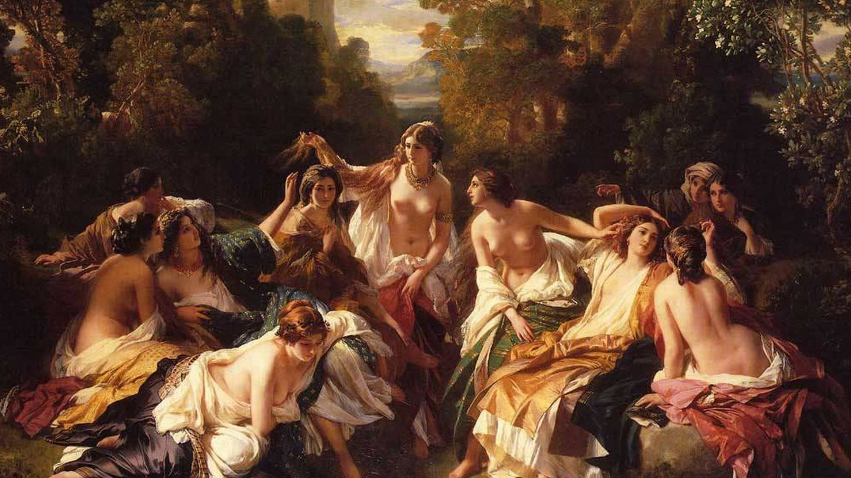 'Florinda', óleo sobre lienzo de Franz Xaver Winterhalter.
