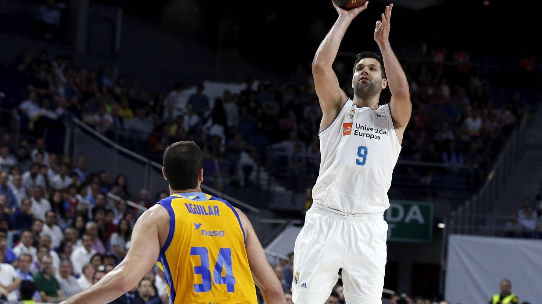 Felipe Reyes superará esta semana a Rafa Jofresa como el jugador con más partidos en la historia de la ACB. (ACB Photo / A. Villalba)