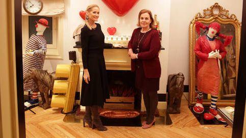 Fiona Ferrer nos enseña su domicilio madrileño