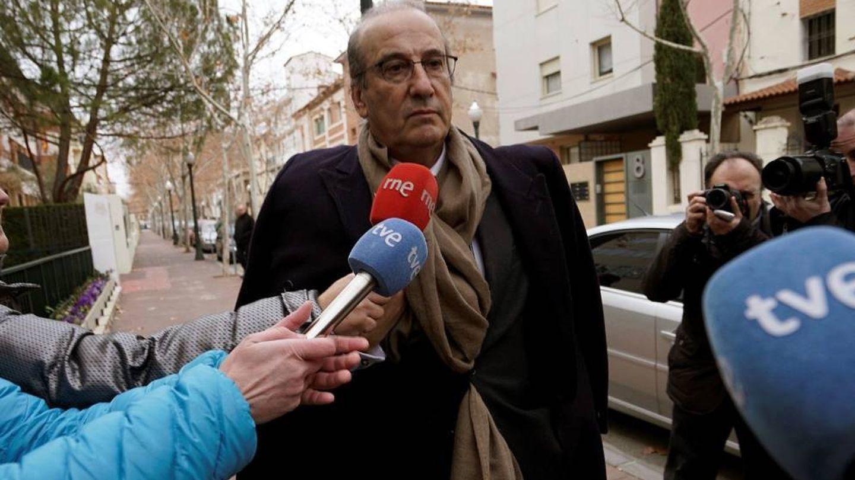 Francisco Franco a su llegada al juzgado de Teruel, en una imagen de archivo. (EFE)