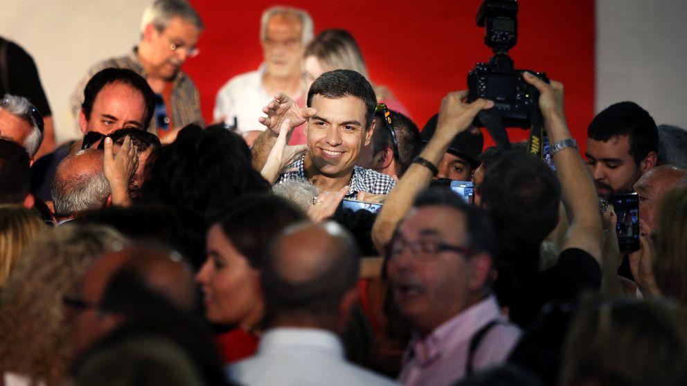 Sánchez asume el no de López pero se lanza a por sus bases: la suya es la única alternativa