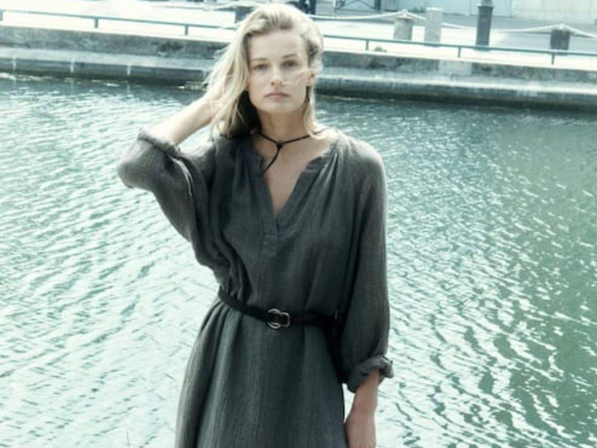 Foto: El vestido de lino de Massimo Dutti al que no podrás resistirte. (Cortesía)