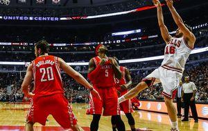 Un imparable Pau Gasol lidera el triunfo de los Bulls ante los Rockets