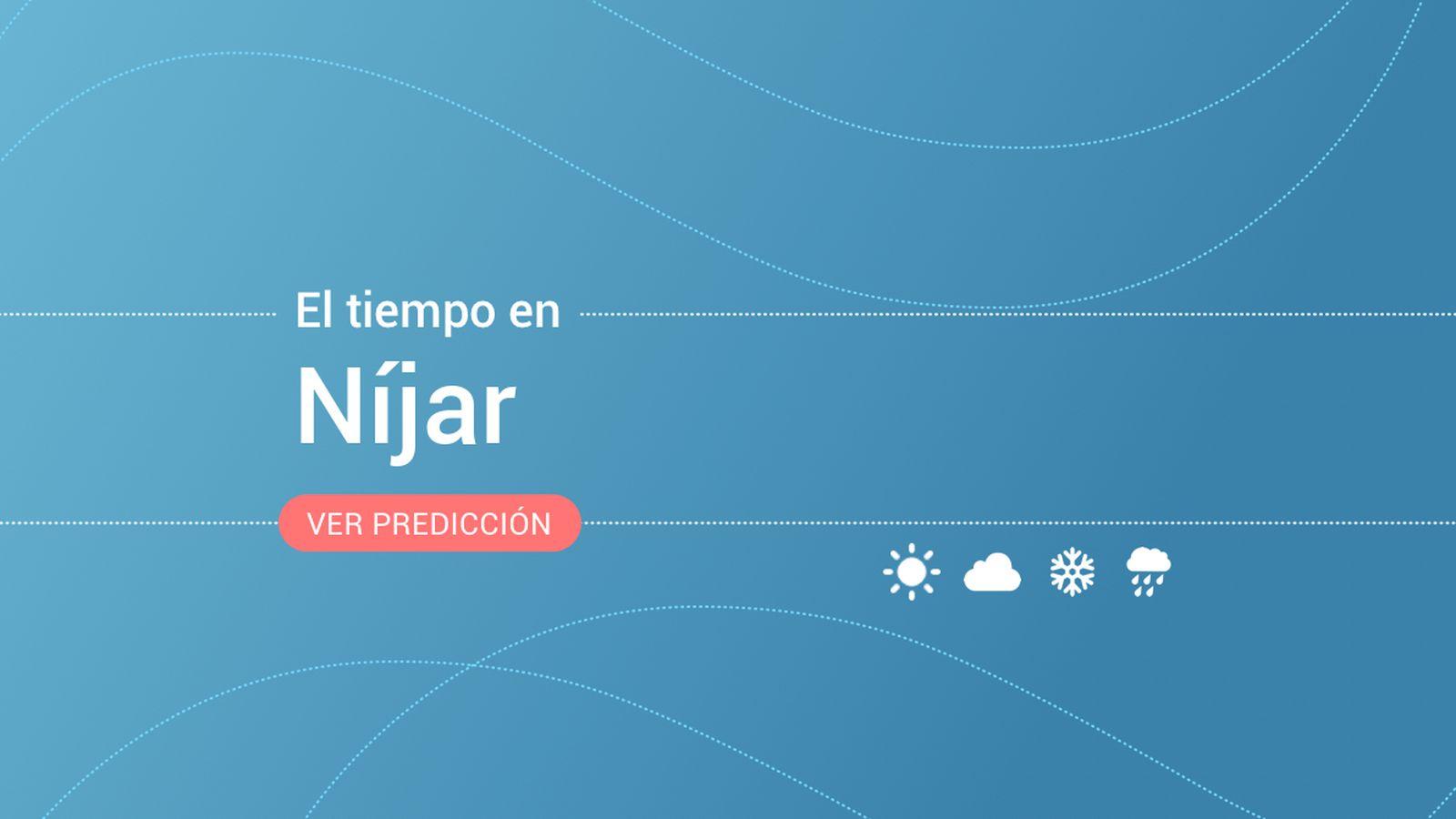 Foto: El tiempo en Níjar. (EC)