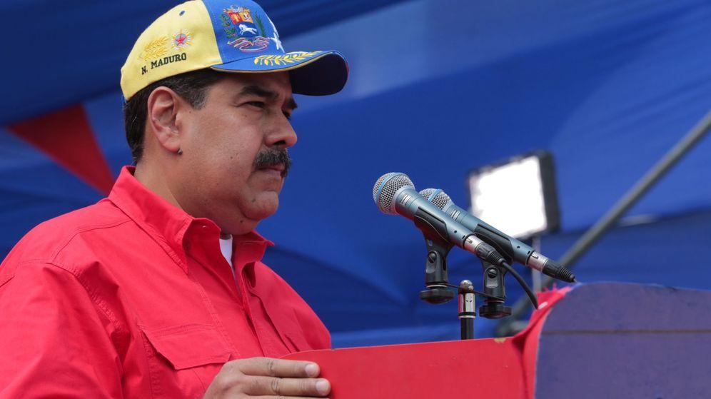 Foto: Maduro jura defender a Venezuela como lo hizo Guaidó. (EFE)