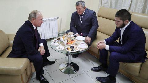 La petición de Putin para que Khabib no sea castigado... por su padre