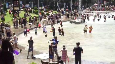 Armenia celebra su multitudinario festival del agua
