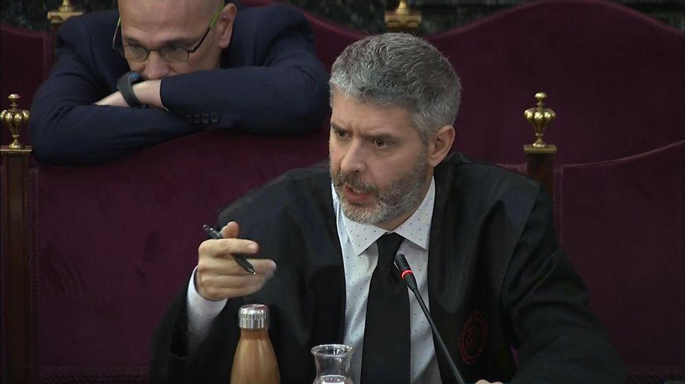Foto: El abogado de Oriol Junqueras y Raül Romeva, Andreu Van den Eynde. (EFE)