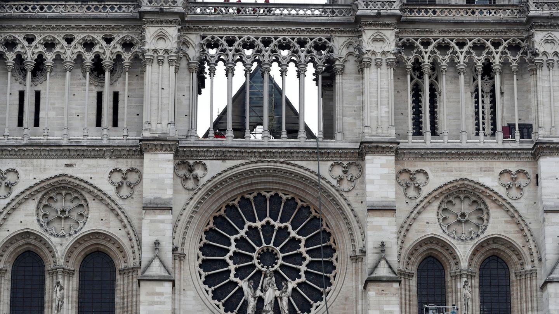 Fachada de la catedral de Notre Dame.  (Reuters)