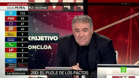 Los espectadores prefieren La Sexta a TVE para informarse de política